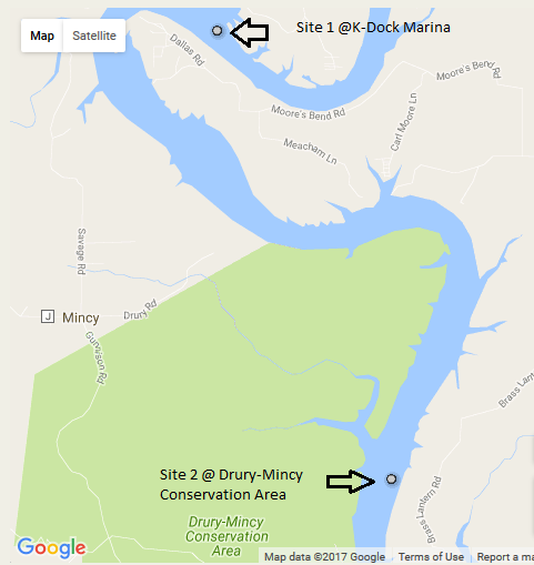 Historical Upper Bull Shoals Lake Data - Bull Shoals Field Station ...